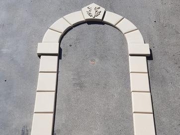 arco in polistirolo