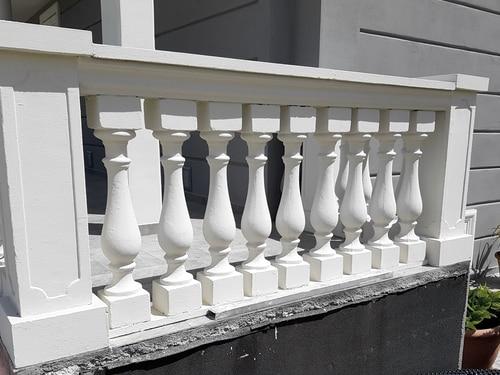 balaustra cemento esempio di montaggio art 59