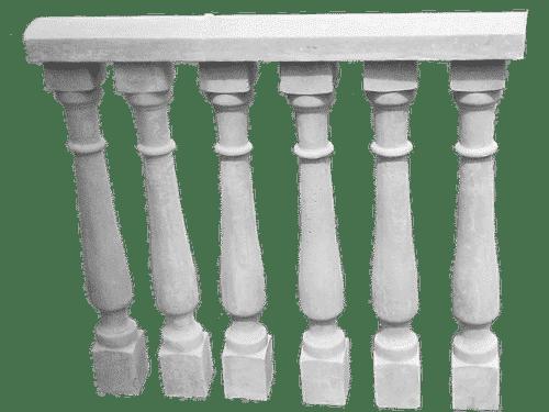 balaustra cemento esempio di montaggio art 63