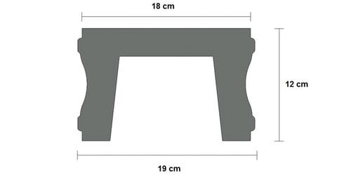 base cemento balaustra art 153 sezione Pistoia, Toscana