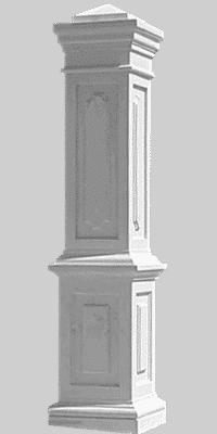 colonna cancello cemento art 160