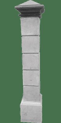 colonna cancello cemento art 163