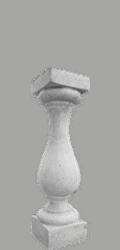 colonnino cemento balaustra art 84