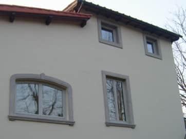 cornice cemento finestre installato