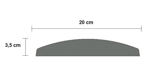 corrimano cemento balaustra art 154 sezione