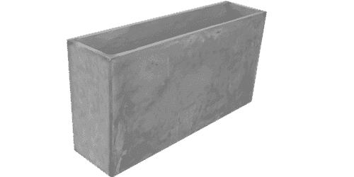 fioriera appoggio cemento art 133