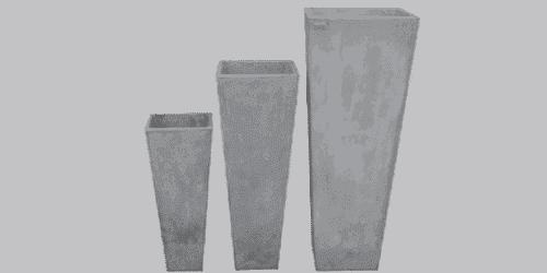 fioriera appoggio cemento art 135