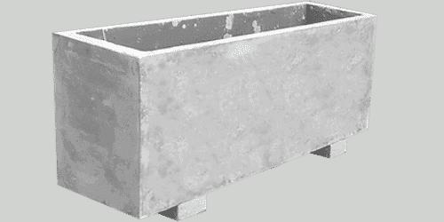 fioriera appoggio cemento art 27