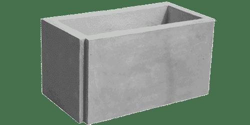 fioriera appoggio cemento art 27c