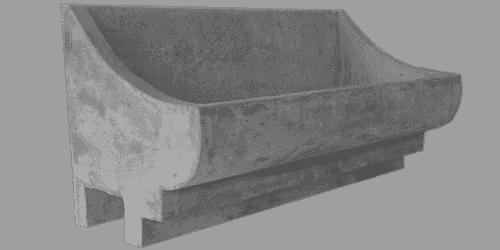 fioriera incastro cemento art 11