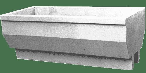 fioriera incastro cemento art 18