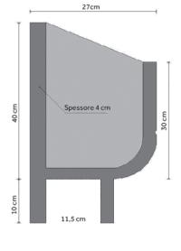 fioriera incastro cemento art 19 sezione
