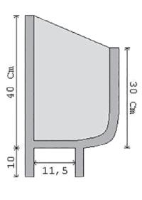 fioriera incastro cemento art 24 sezione