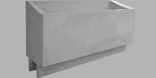 fioriera incastro cemento art 33
