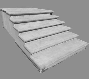scalino scala cemento art 190